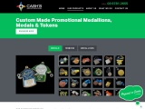 Custom Made Promotional Medallions, Medals & Tokens