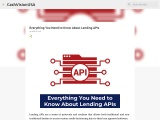 Everything You Need to Know About Lending APIs