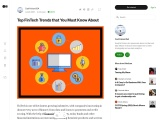 Top FinTech Trends that You Must Know About