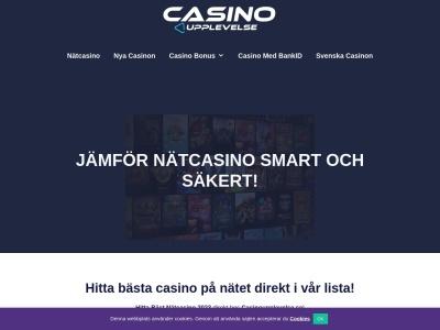 casinoupplevelse.se