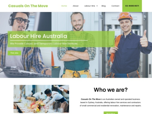 Casuals On The Move   Casual Labour Hire Sydney
