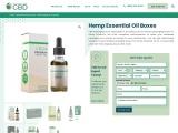Hemp Essential Oil Boxes