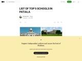 Top 5 Schools in Patiala   CBSE schools