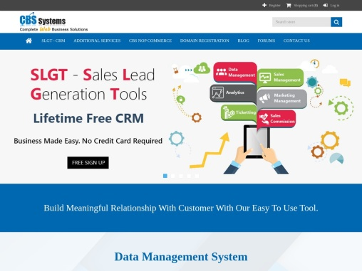 CBS Systems  Corp. – Web Solution