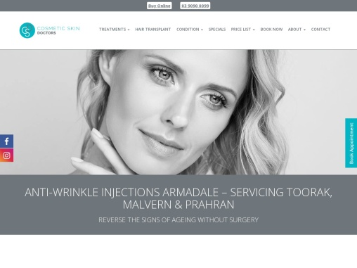 Anti Wrinkle Injections Melbourne