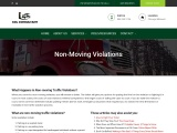 Non-Moving Traffic Violations – CDL Consultant