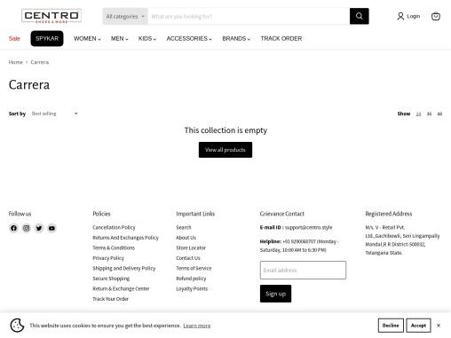 Carrera Men Casual Canvas Shoes