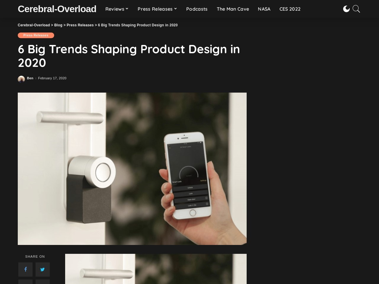 6 Big Trends Shaping Product Design in 2020