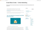 Trik Email Blast Marketing Yang Jitu Gratis
