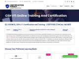 EC-Council Ethical Hacker CEH Online Training, Course and Certification