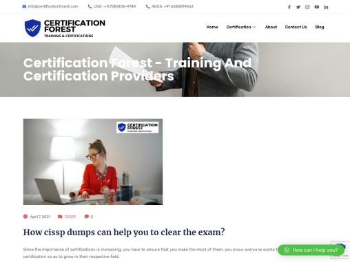 How CISSP dumps can help you to clear the exam?
