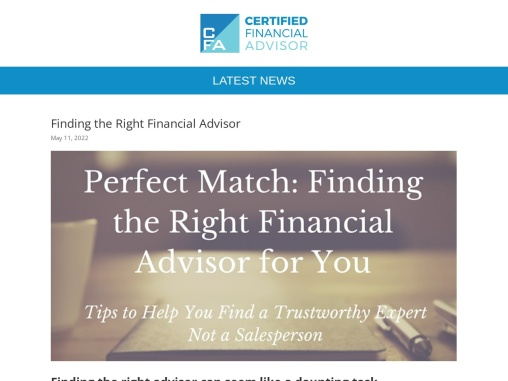 Washington DC Financial Advisor