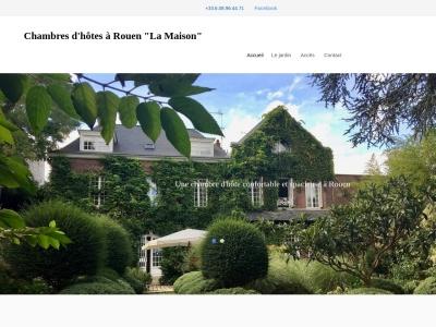 La maison : chambres d'hôtes sur Rouen