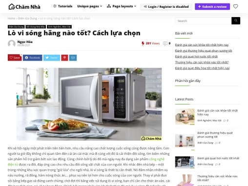lo vi song Electrolux tot nhat