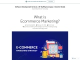 What is Ecommerce Marketing? – Software Development Services