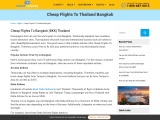 Cheap Flights To Bangkok Thailand Call+1-855-936-0309