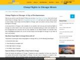 Cheap Flights to Chicago, Round Trip Flights to CHI – CheapFlightsReservation
