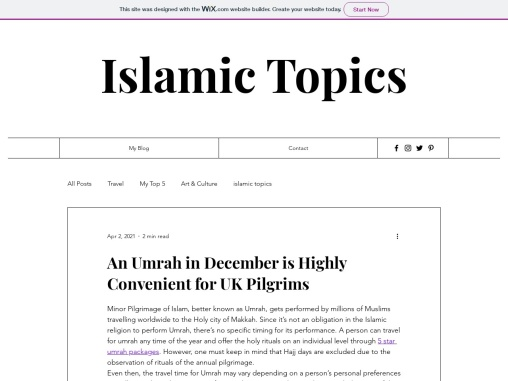 An Umrah in December is Highly Convenient for UK Pilgrims