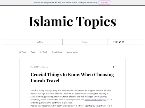 Crucial Things to Know When Choosing Umrah Travel