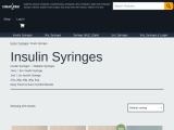 Buy Insulin Syringe With Safety Needle in USA   Cheappinz