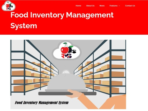 Food Inventory Management System – Cherry Berry RMS