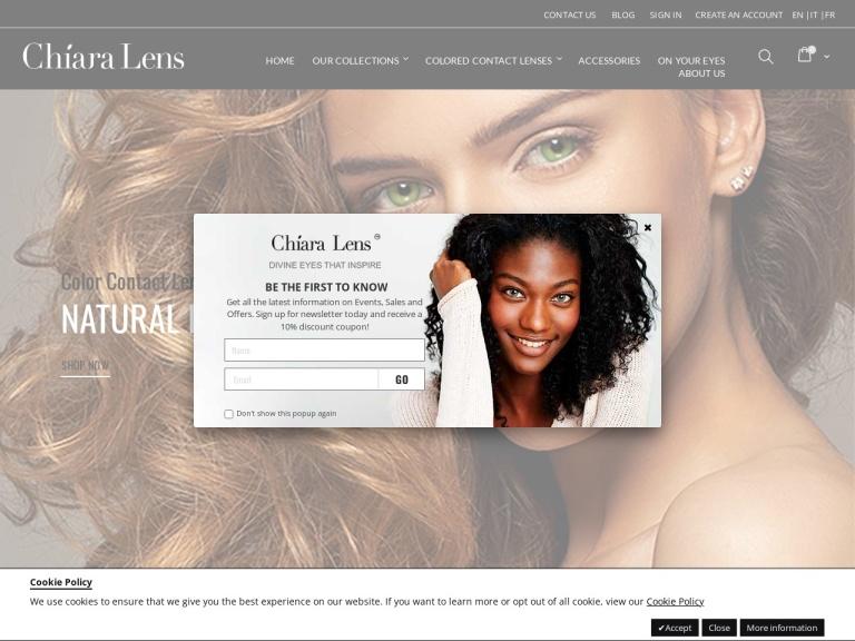 Chiara Lens screenshot