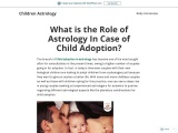 Child Adoption in Astrology- Adopt a Baby as per Horoscope – Houses Responsible for Child Adoption