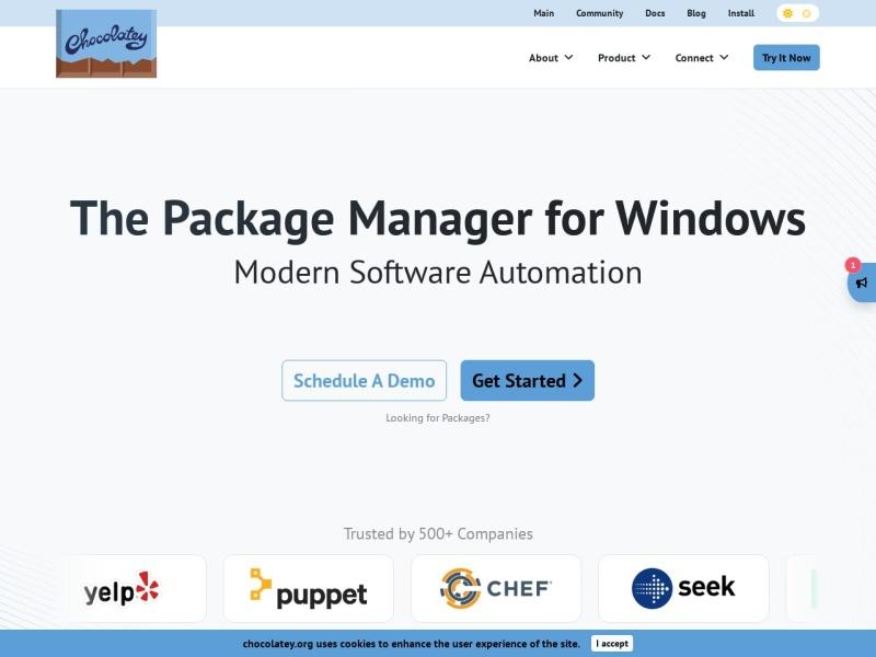Chocolatey |Windowsのパッケージマネージャー