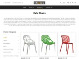 Cafe Chairs Manufacturers in India – Choice Furntech