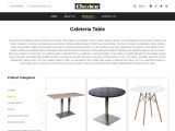 Cafeteria table Manufacturers in India – Choice Furntech