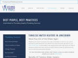 Jonesboro Tankless Water Heaters   Providing Expert Tankless Water Heater Services