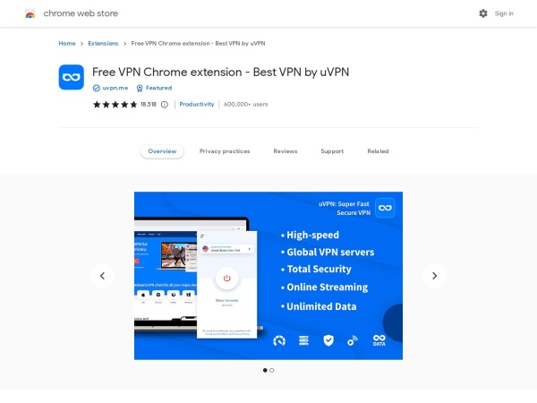 - 9 Best Free Chrome VPN Extension 2020