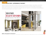 How Home Elevators Work? Guide to Home Lifts