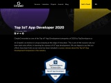 CimpleO declared as one of the Top IoT App Development companies of 2020 by TopDevelopers.co