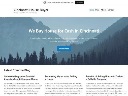 Selling House to Cash Buyers in Cincinnati