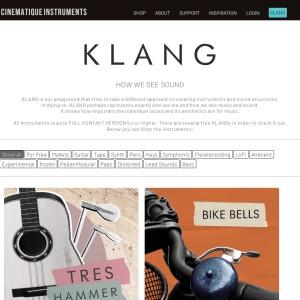 CINEMATIQUE INSTRUMENTS - FREE KLANG