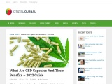 CBD Capsules and The Benefits of Using Them