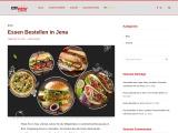 Essen bestellen in Jena | City Pizza Jena | Kostenlose Lieferung in Jena