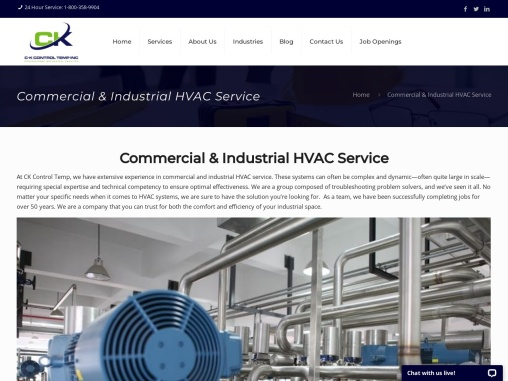 Most Trusted Commercial & Industrial HVAC System in New Jersey