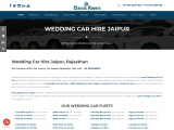 Wedding Car Hire Jaipur   wedding car in Jaipur