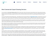 Best Commercial Carpet Cleaning Services