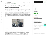 Step by step instructions to Recycle Electronic Waste With Responsibility