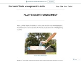 PLASTIC  AND E WASTE MANAGEMENT