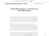 Recycle Waste Products – How Trash Turns Into Usable Products