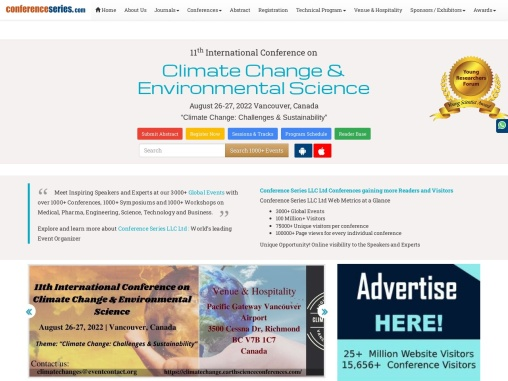 Global Conference on Climate Change & Environmental Science