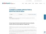 Drug licence registration process