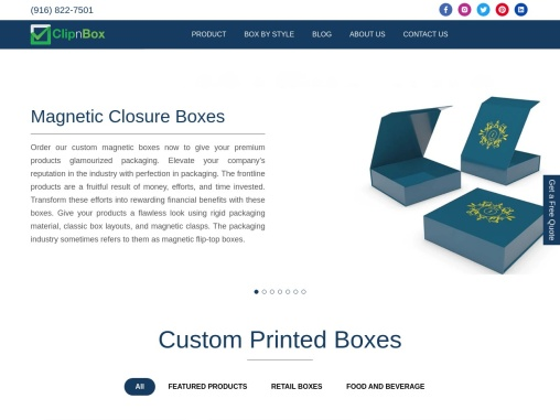 ClipnBox – Custom Printed Boxes