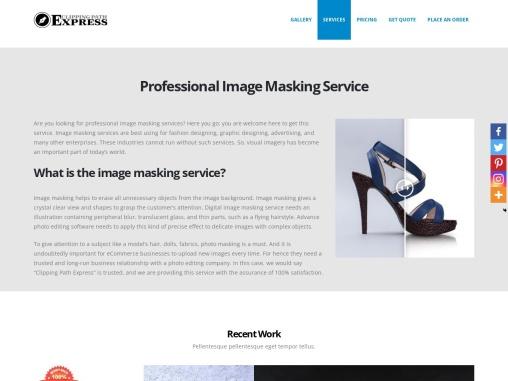 Professional Image Masking Service