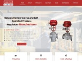 Ultra-Reliable Control Valves and Self-Operated Pressure Regulators Manufacturer