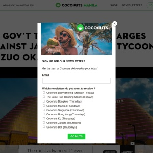 PH gov't to file fraud charges against Japanese gaming tycoon Kazuo Okada | Coconuts Manila